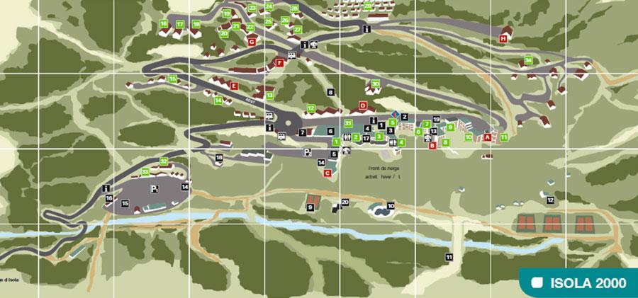 Location de ski isola 2000 3 magasins votre service - Isola 2000 office de tourisme ...